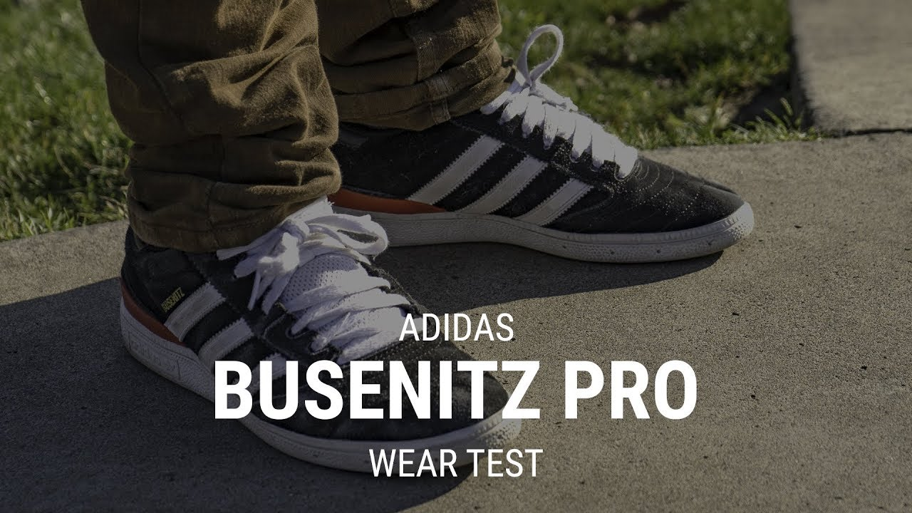Adidas Busenitz Pro Weartested detailed skate shoe reviews