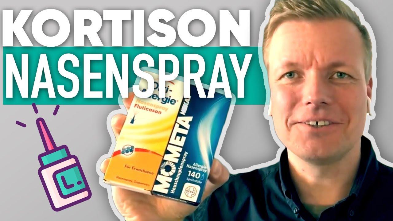 Cortison nasenspray nasonex nebenwirkungen