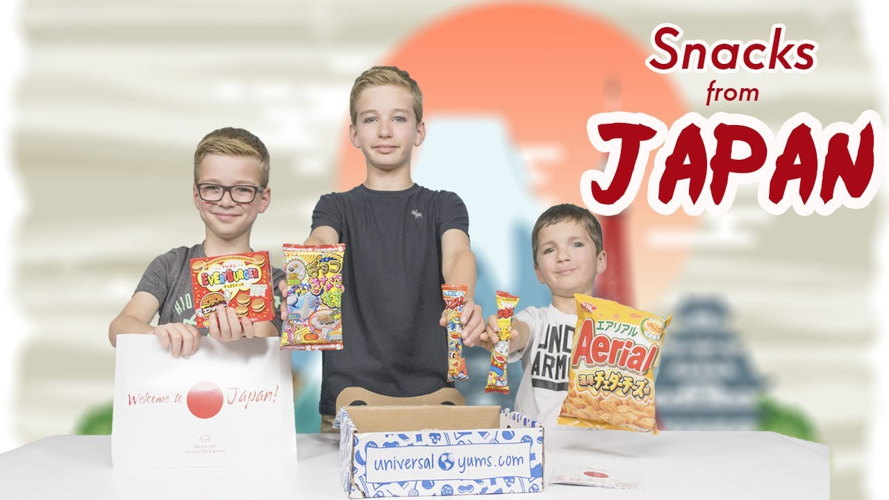 Weird Japanese Candy Food Challenge Japanese Candy Taste Test Kids Review Snacks From Japan