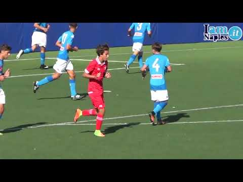 IAMNAPLES.IT - Under 16 A e B, Napoli-Perugia 6-0. Gli highlights del match