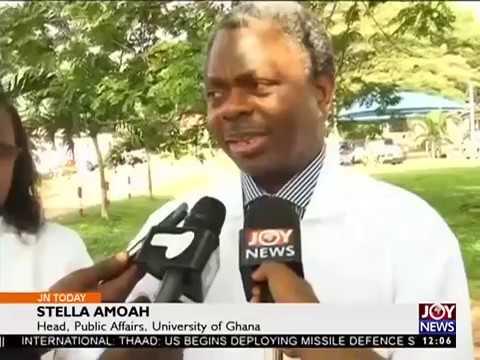 At University Of Ghana Joy News Today 8 3 17