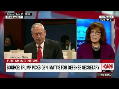 Source  Trump picks Mattis for Defense Dept