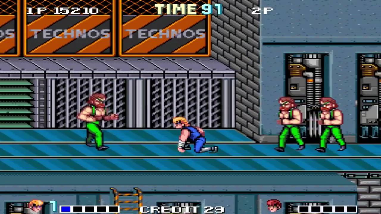 OpenBoR games: Double Dragon Reloaded playthrough