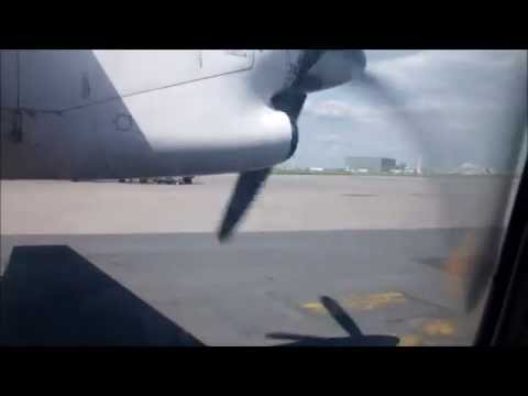 AC8984 Air Canada Express Dash-8-100 Ottawa to Montreal (19/8/14)