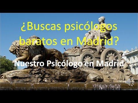 Psicólogo Barato En Madrid - Psicologo Madrid Precio