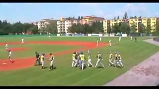 Бейсбол. Чемпионат Европы - 2012. Украина - Болгария.