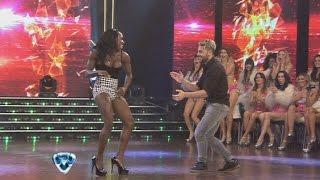 Showmatch 2014 - Casting caliente: Rosemary bailó y se le escapó una lola