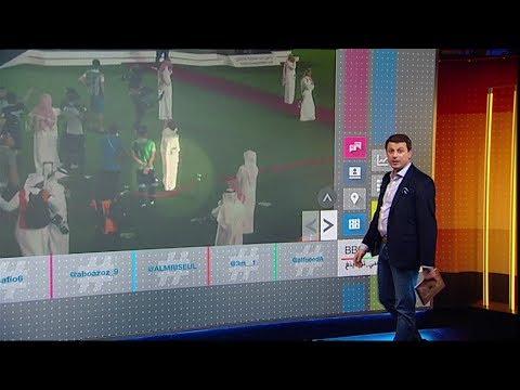 لمن كان يشير الأمير محمد بن فيصل بحذائه بعد خسارة الهلال السعودي نهائي كأس زايد للأندية الأبطال؟  - 18:54-2019 / 4 / 19