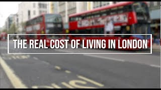 Real cost of living in London