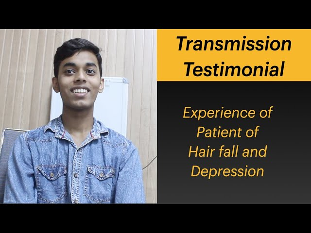 Hair fall and Depression