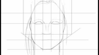 How to draw a sexy female face, real time, audio (Part 2)