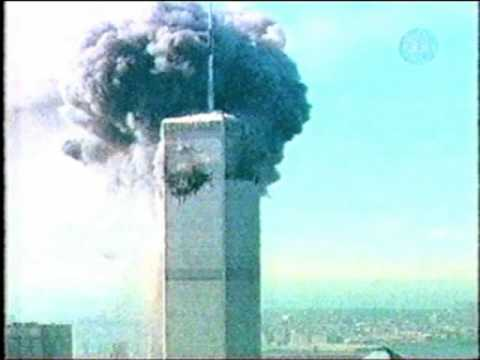 Australian TV reports the 911 attacks live (footage from 11 Sept 2001) Part 3/4