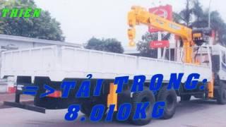 phụ tùng cần cẩu SOOSAN  7 tấn + TRUONGGIANG DFM EQ9TE6x4+SCS746-LH 0989134217