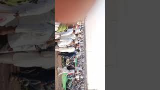 World biggest ijtama aurangabad people resting outside pendal for not getting space inside.