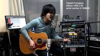 Gambar cover Honesty Billy Joel Gibson J-50 1968 ギブソン J50 古澤剛 Takeshi Furusawa