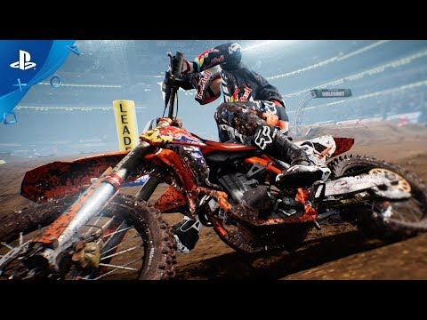 Monster Energy Supercross – Announce Trailer | PS4