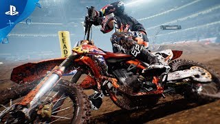 monster energy supercross – announce trailer