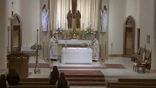 Fifth Sunday of Easter Mass at St. Joseph's with Monsignor Harris (5.10.20 )
