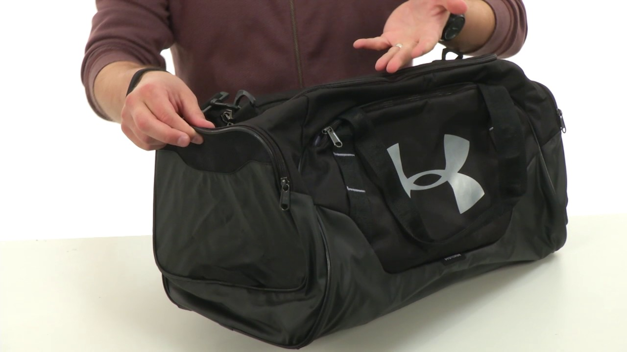6181d6130c Under Armour UA Undeniable Duffel 3.0 MD SKU 8871512 - YouTube