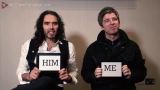 Video Me and Him... with Russell Brand and Noel Gallagher download MP3, 3GP, MP4, WEBM, AVI, FLV September 2017