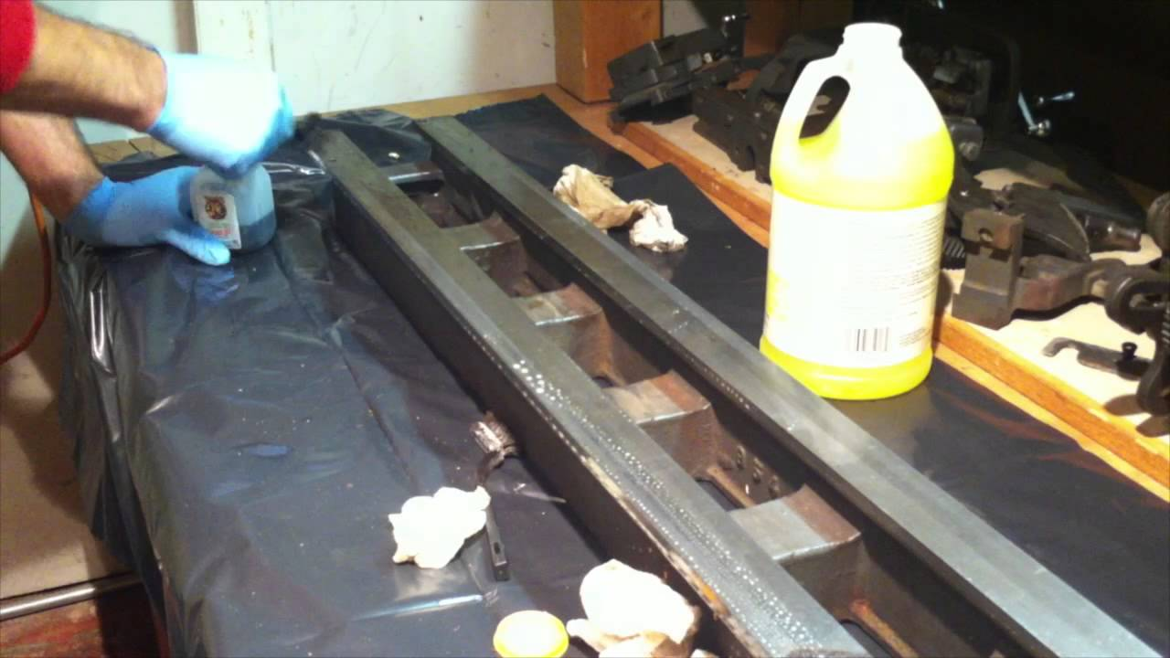 Cleaning The Ways - Part 7 Of My Lathe Restoration
