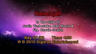 Justin Timberlake & Matt Morris ftg. Charlie Sexton - Hallelujah (Backing Track)