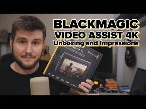 Blackmagic Video Assist 4k: Unboxing and First Impressions