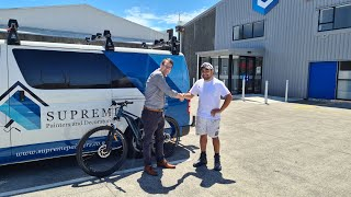 Announcing The Winner Of The eBike Draw!