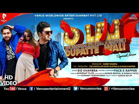 O Lal Dupatte Wali | Full Video | Sid Khambra | Ft. Pace D Rapper | Akshraat Films | Hindi Song
