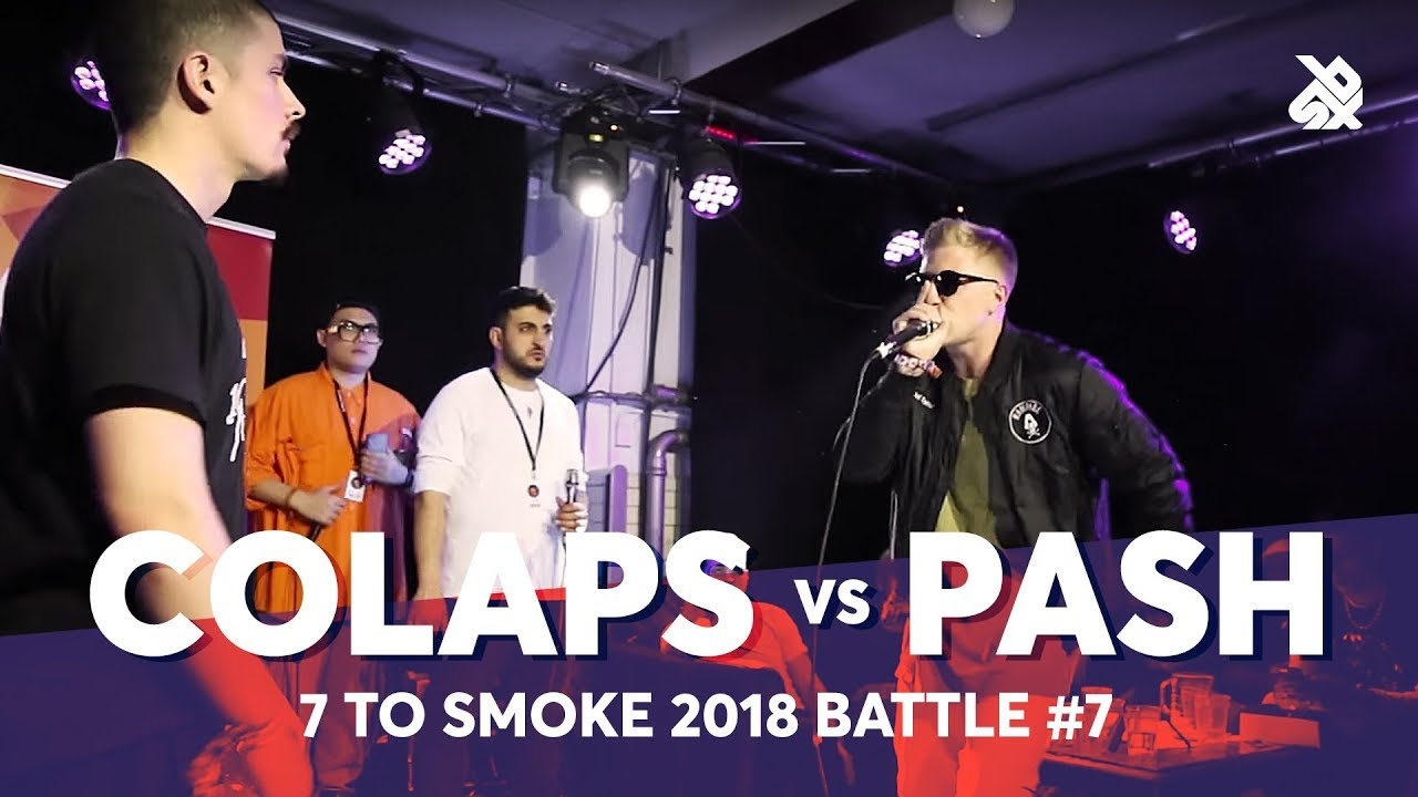 COLAPS vs PASH | Grand Beatbox 7 TO SMOKE Battle 2018 | Battle 7