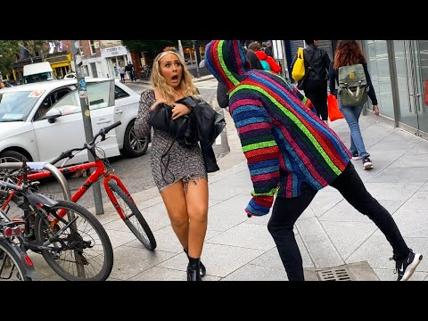 Mannequin Prank Gave her the Scare of her life