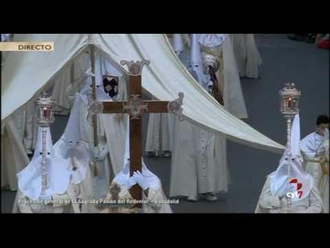 Procesión General de la Sagrada Pasión del Redentor, Valladolid (14/04/2017)