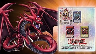CLASSIC YuGiOh Legendary Collection Box Opening! The MIGHT of the GOD CARDS! OH BABY!!