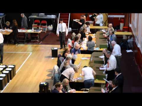 Clacton Election Count