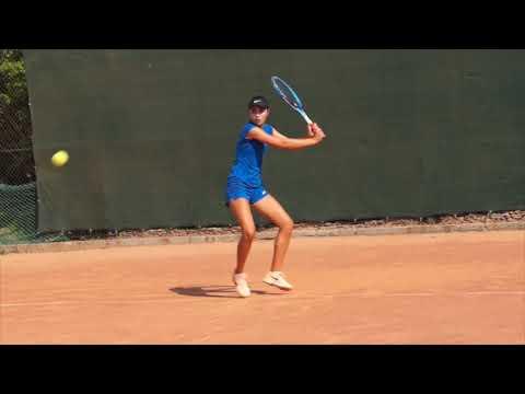 Diana Babinets. Ukrainian tennis player