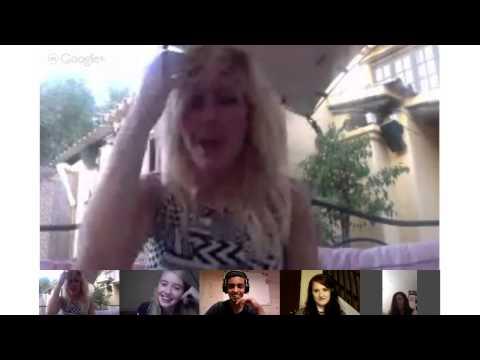 Ellie Goulding Ibiza Google+ Hangout