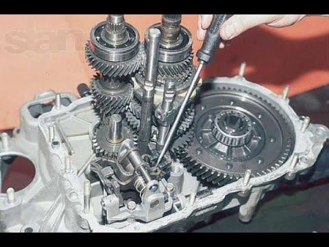 Фото к видео: Ремонт и диагностика КПП ВАЗ передний привод 21083