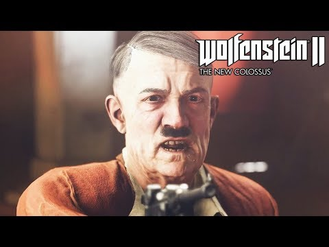 Wolfenstein 2 The New Colossus Killing Hitler