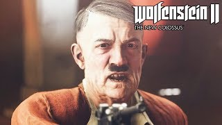 Wolfenstein 2 The New Colossus Killing Hitler
