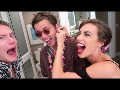 I PIERCED HIS EAR AND WE CRASHED A PARTY!