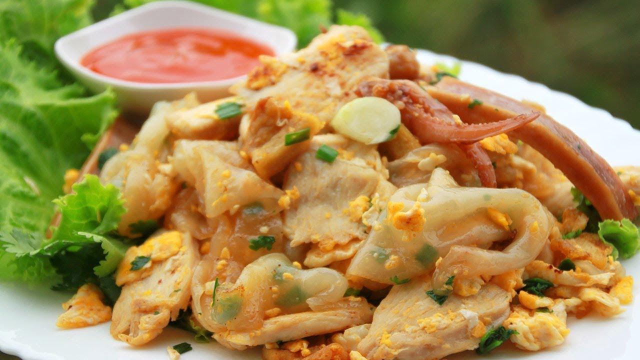 ก๋วยเตี๋ยวคั่วไก่ หอมอร่อย ทำง่ายมาก l กินได้อร่อยด้วย