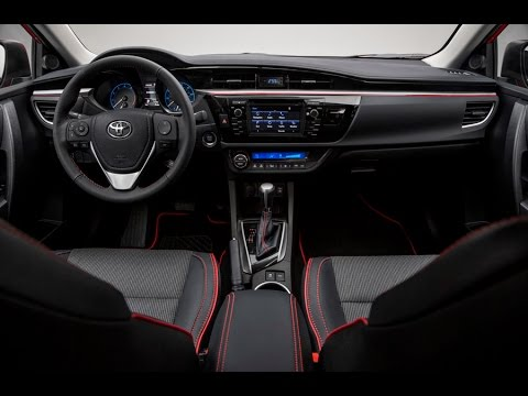Toyota Corolla 2016 Interior Review