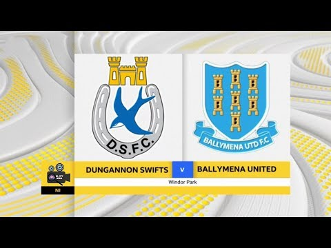 Dungannon Swifts Vs Ballymena Utd - 17th February 2018 #LeagueCupFinal