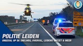 POLITIE LEIDEN | ONGEVAL OP DE SNELWEG | OVERVAL | LEIDENS ONTZET & MEER
