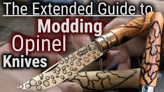 How to Wood Carve/Mod Any Opinel Knife