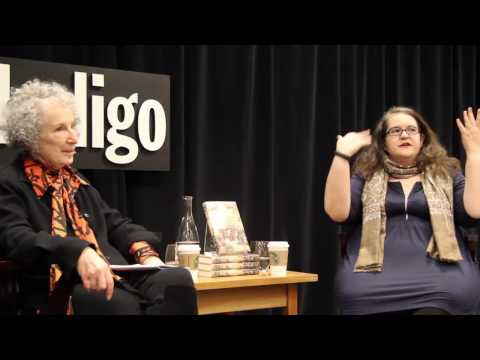 Margaret Atwood in conversation with Naomi Alderman