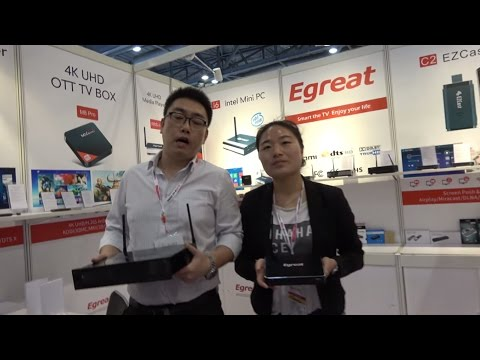 Egreat A5, Egreat A10 4K HDR TV Box on Hisilicon 3798C V200