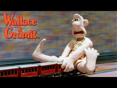 The Wrong Trousers - Train Chase - Wallace and Gromit thumbnail