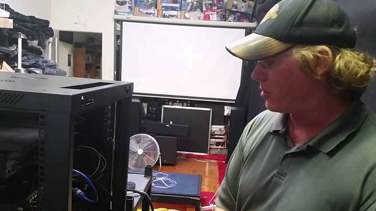 Home Theater Rack Wiring Data Diy Ch2 Vxp Custom Youtube Rh Com Installing
