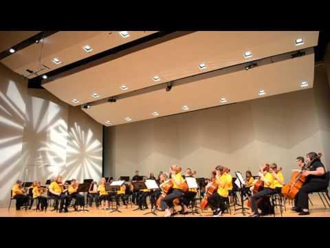 NKU String Project Prelude Class Performs Bon Temps Chanson